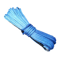 Synthetic Winch Rope - 30M x 12MM (BLUE)