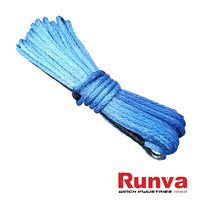 Synthetic Winch Rope - 30M x 10MM (BLUE)